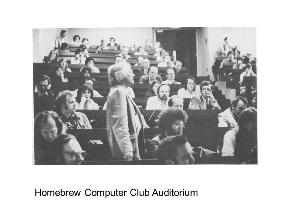 Homebrew Computer Club Auditorium