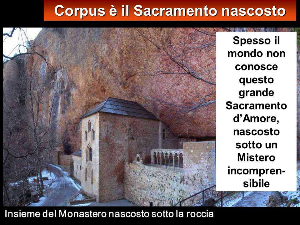 Immagini del Monastero di S. Giovanni della Peña (Roccia) X sec., a 1220 metri di altitudine (pirenei aragonesi)