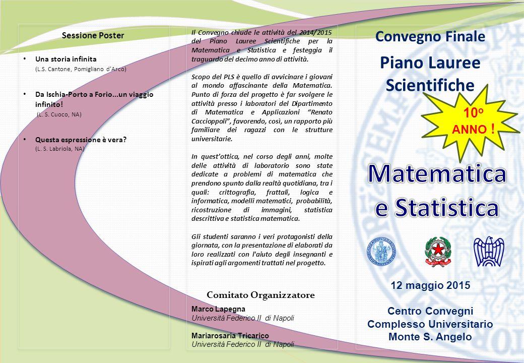 Sessione Poster Una storia infinita (L.S.