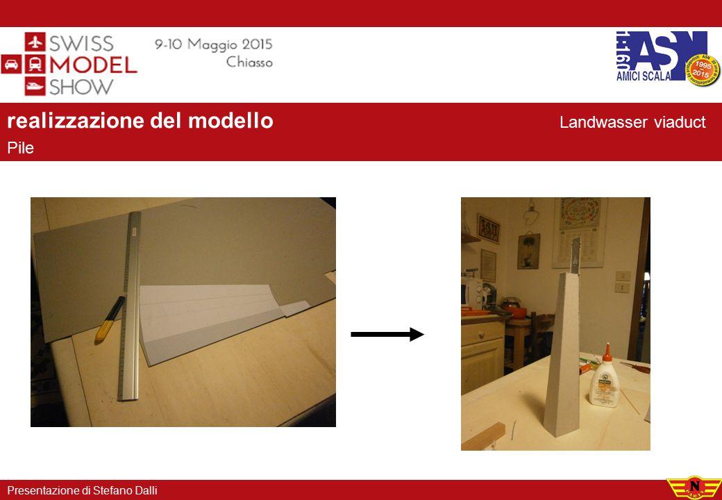 realizzazione del modello Pile Presentazione di Stefano Dalli Landwasser viaduct