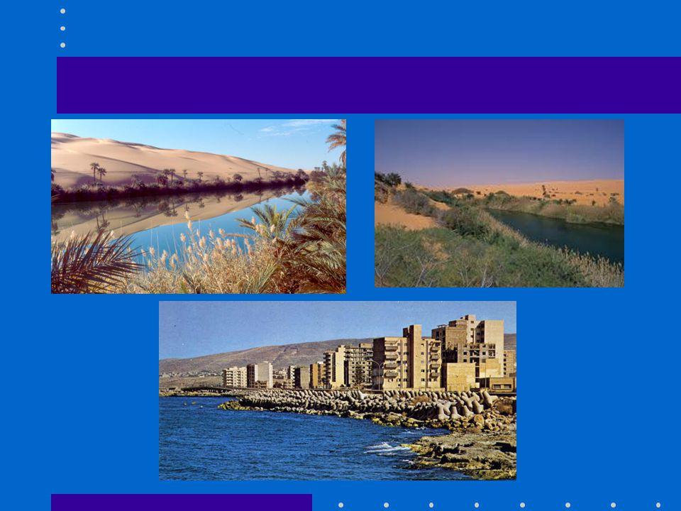 Il clima accentua i suoi caratteri desertici a mano a mano che dalle regioni costiere ci si spinge verso l'interno.