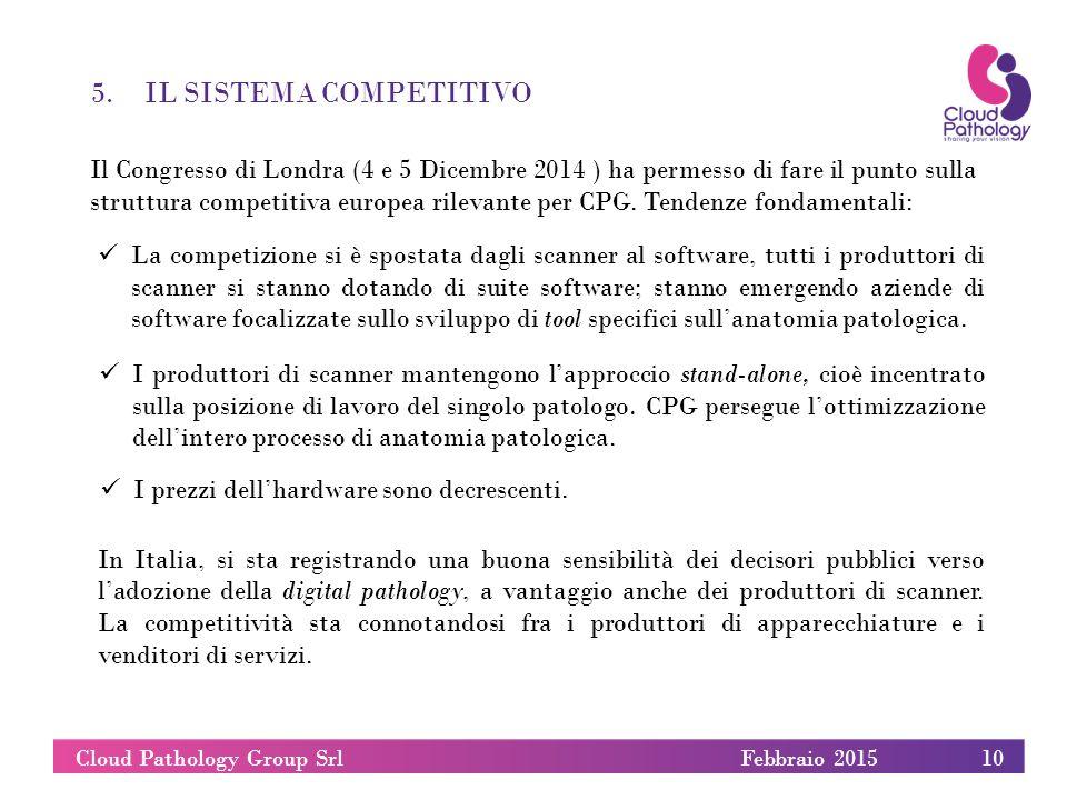 5.IL SISTEMA COMPETITIVO Il Congresso di Londra (4 e 5 Dicembre 2014 ) ha permesso di fare il punto sulla struttura competitiva europea rilevante per