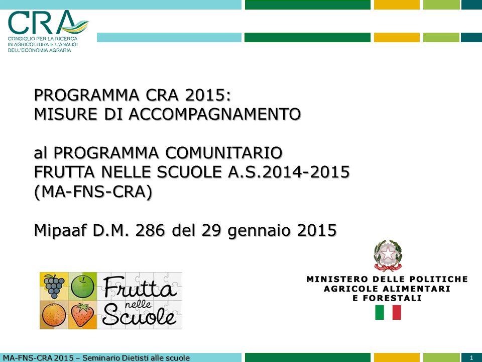 2 Mangiando… Fruttando!! Dott.ssa Filomena Cristofano DIETISTA