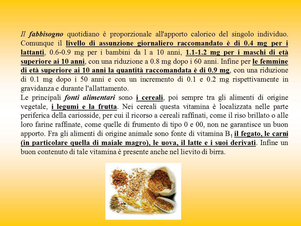 Col nome di acido folico o di folacina, o di vitamina B 9 o B c si indica una serie di composti, i folati, dotati della stessa attività vitaminica.