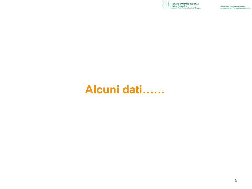 Alcuni dati…… 6