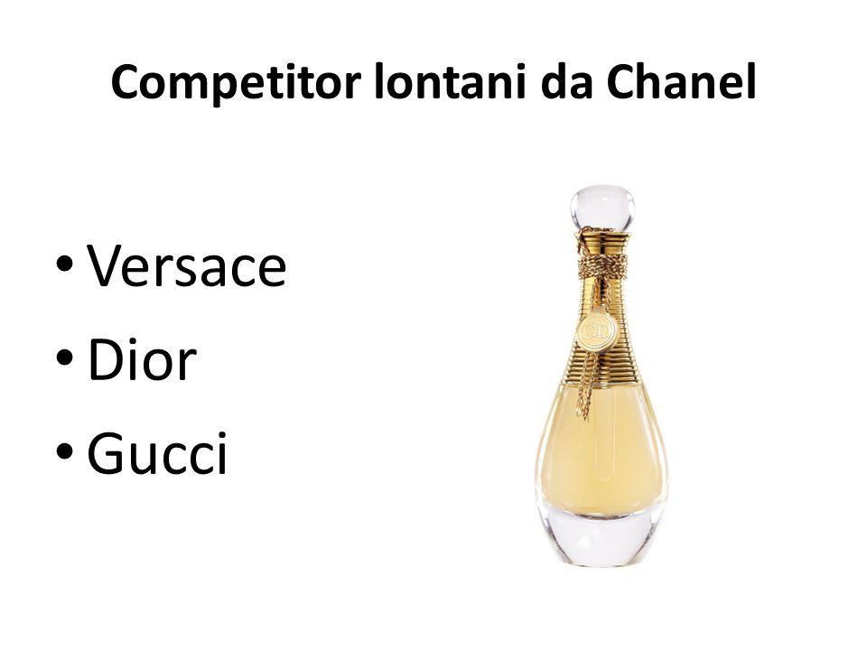 Competitor lontani da Chanel Versace Dior Gucci