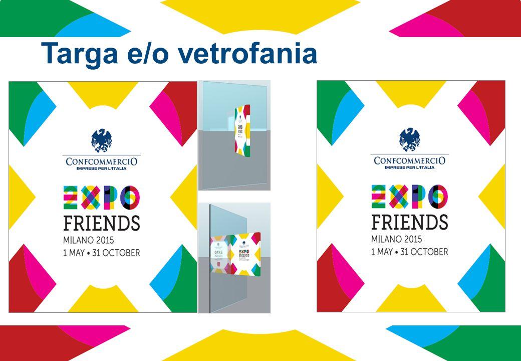 Categorie escluse dal progetto Expo Friends Non possono aderire al progetto Expo Friends le attività monomarca in competizione con i Partner Ufficiali e gli Sponsor di Expo Milano 2015