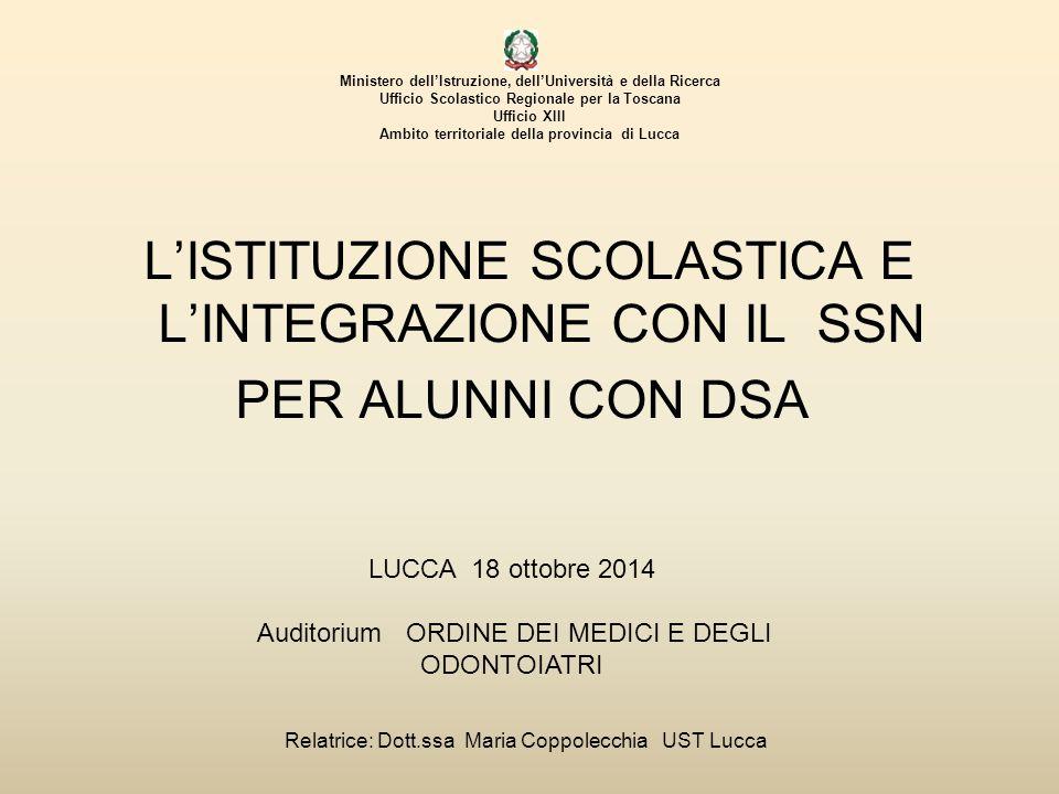 Maria Coppolecchia Norme primarie sulla dislessia L.
