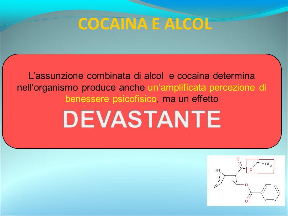 COCAINA E ALCOL