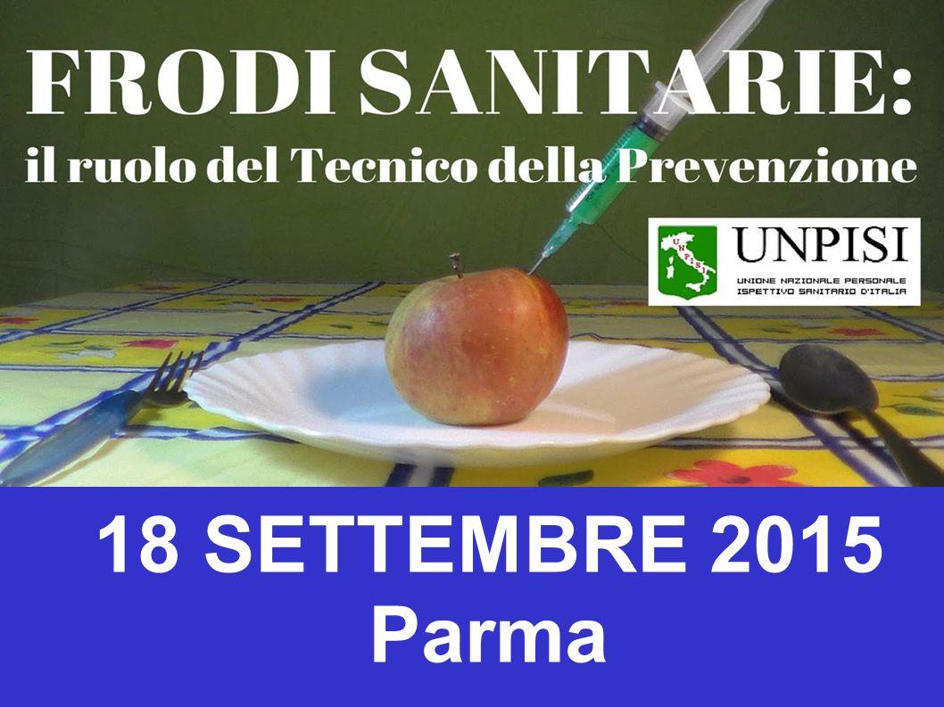 18 SETTEMBRE 2015 Parma
