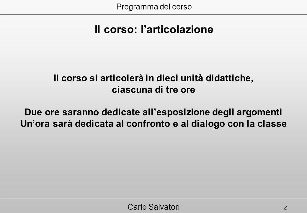 35 Carlo Salvatori 10. CONCLUSIONI