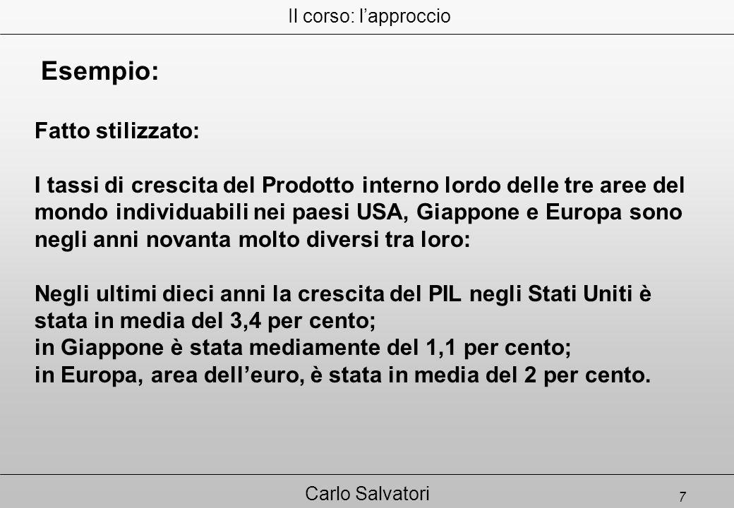 28 Carlo Salvatori 8. SEPARAZIONE FRA PROPRIETA' E CONTROLLO
