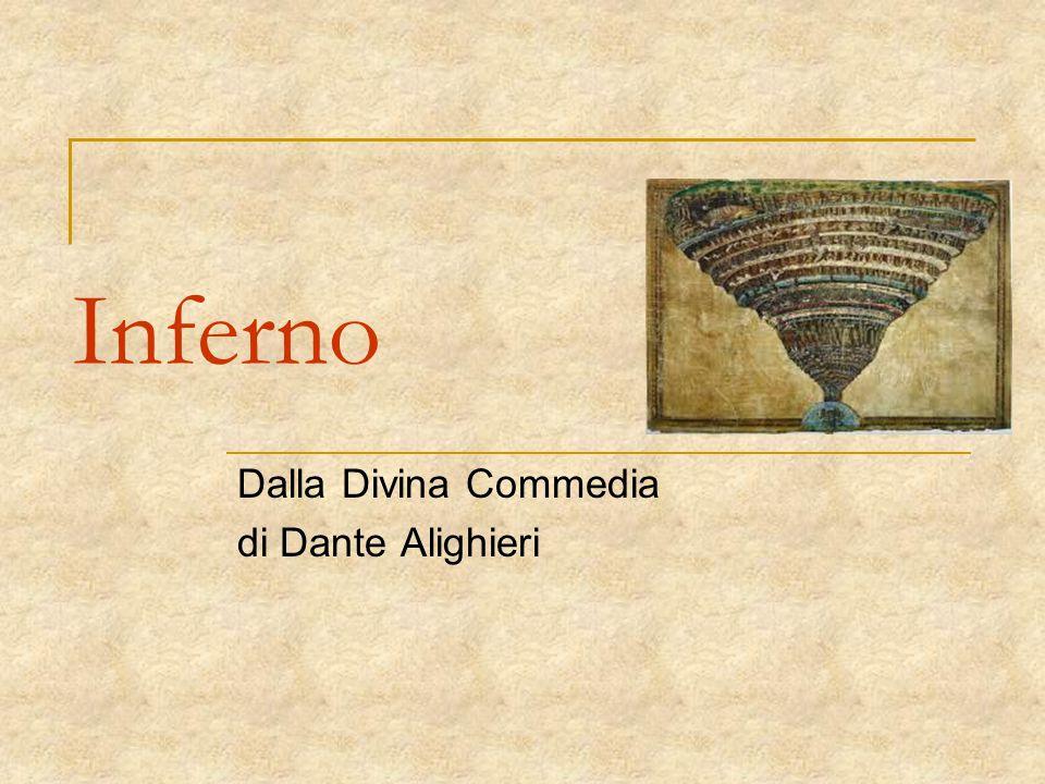 Inferno Dalla Divina Commedia di Dante Alighieri