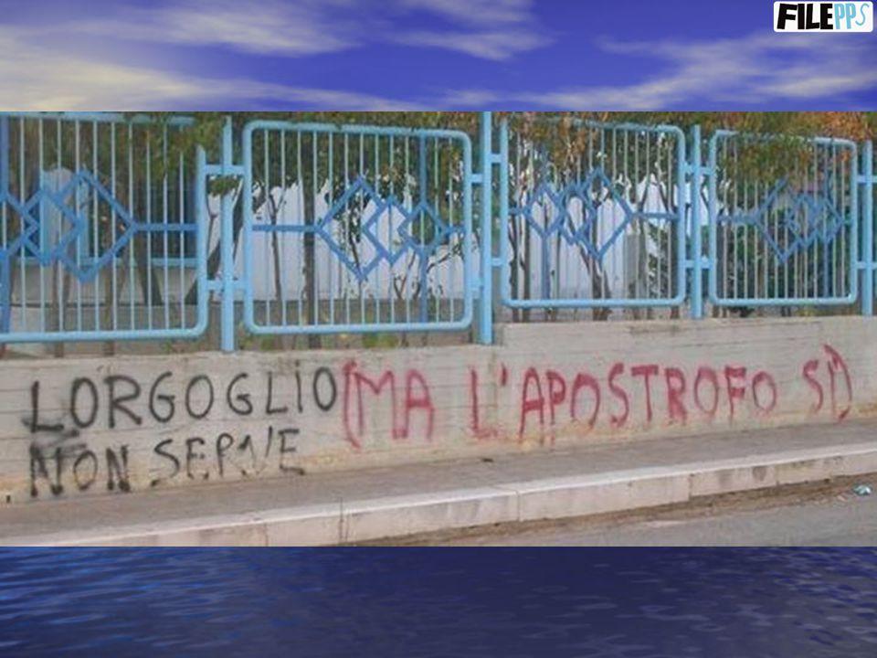 …e altre scritte trovate in giro per Napoli… - POLLERIA: - POLLERIA: Polli arrosto, anche vivi.