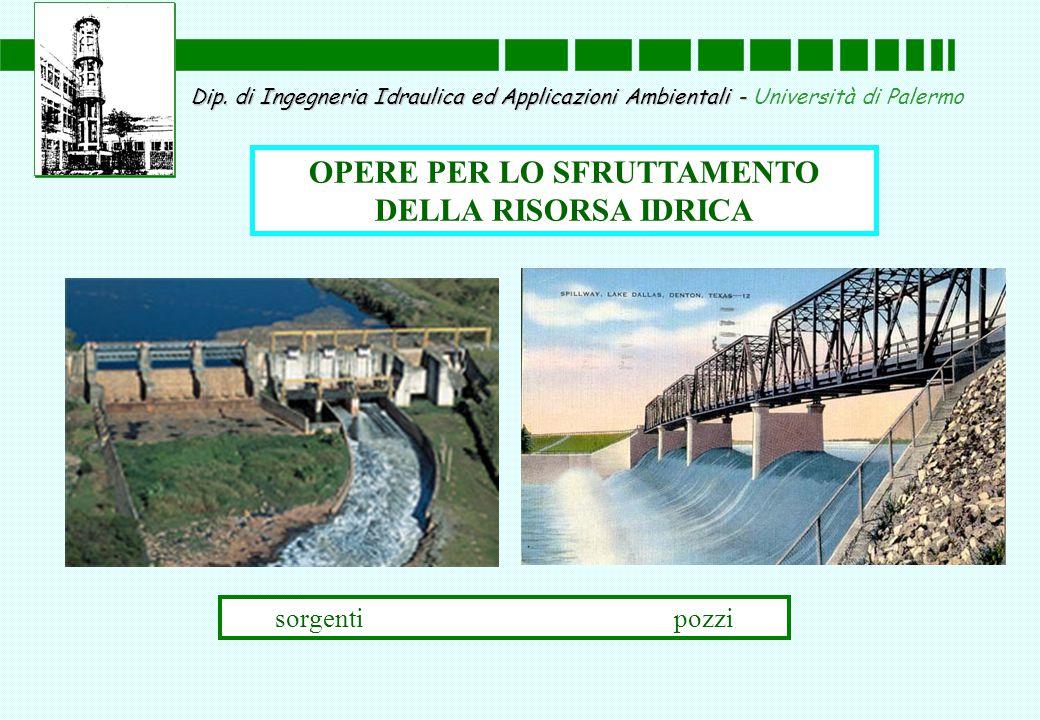 Dip. di Ingegneria Idraulica ed Applicazioni Ambientali - Dip.