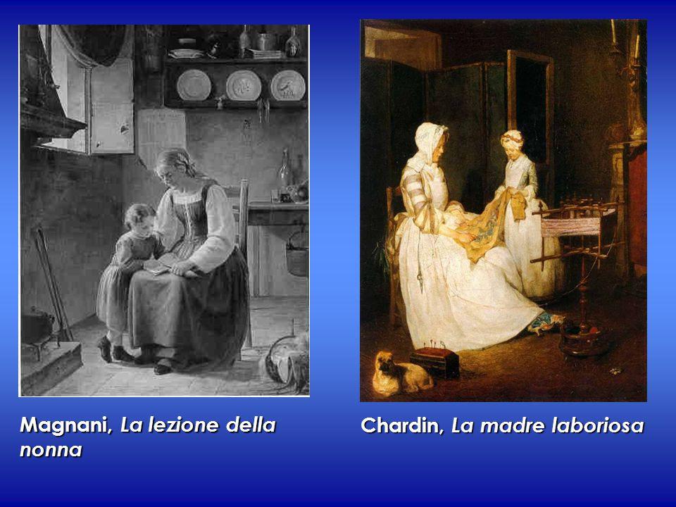 Magnani, La lezione della nonna Chardin, La madre laboriosa