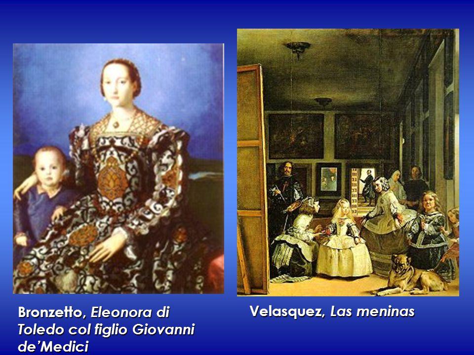 Bronzetto, Eleonora di Toledo col figlio Giovanni de'Medici Velasquez, Las meninas