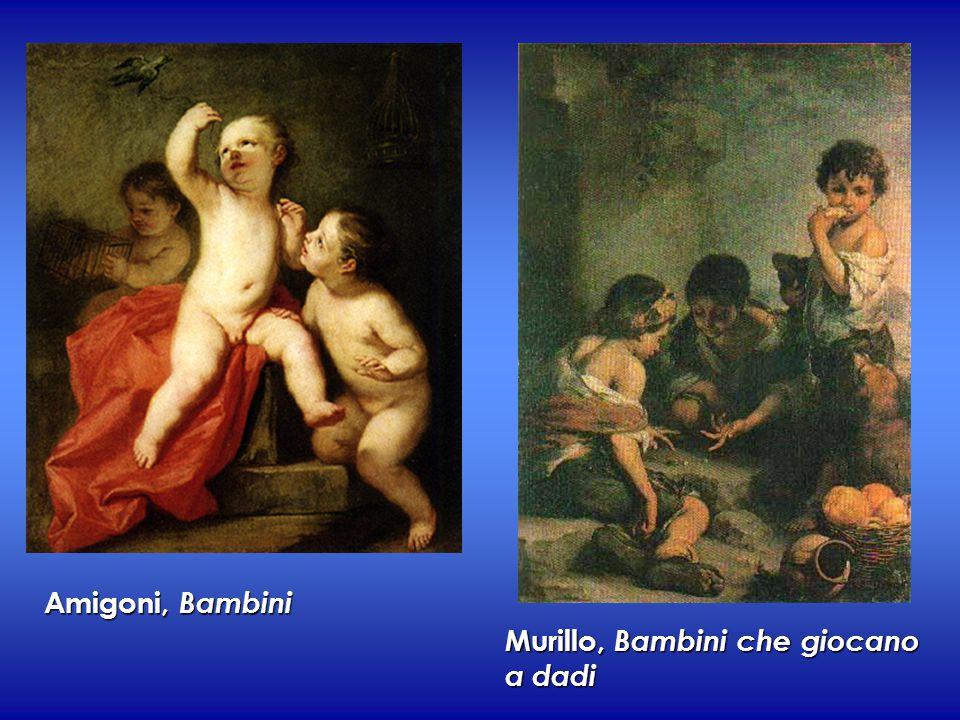 Amigoni, Bambini Murillo, Bambini che giocano a dadi