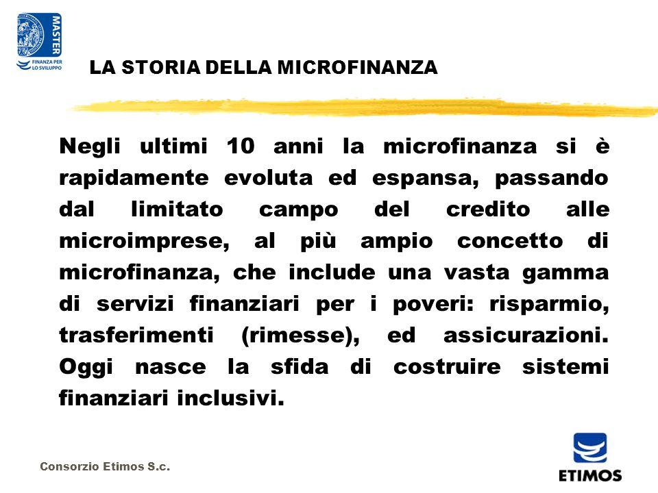 Consorzio Etimos S.c. I PROTAGONISTI