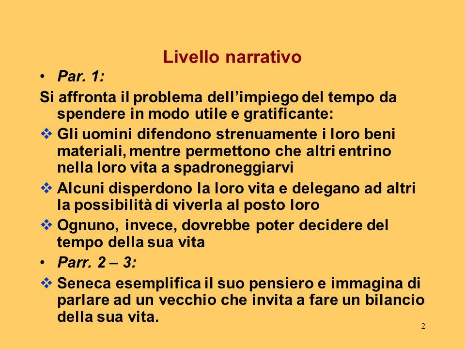 2 Livello narrativo Par.