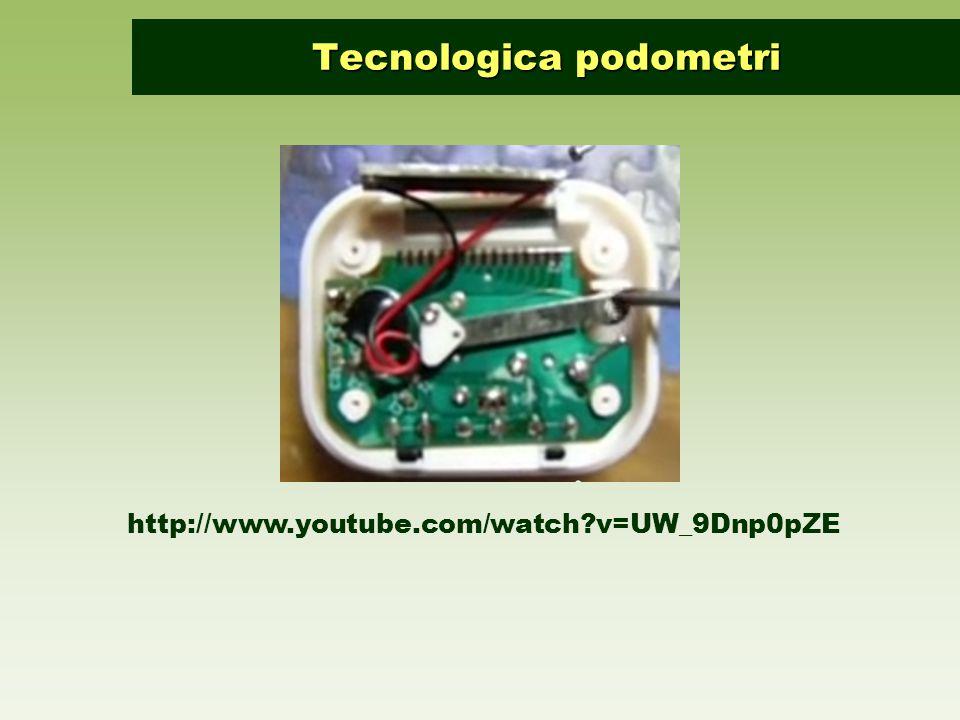 http://www.youtube.com/watch?v=UW_9Dnp0pZE Tecnologica podometri