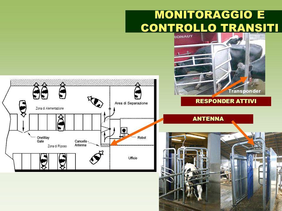 ANTENNA RESPONDER ATTIVI MONITORAGGIO E CONTROLLO TRANSITI