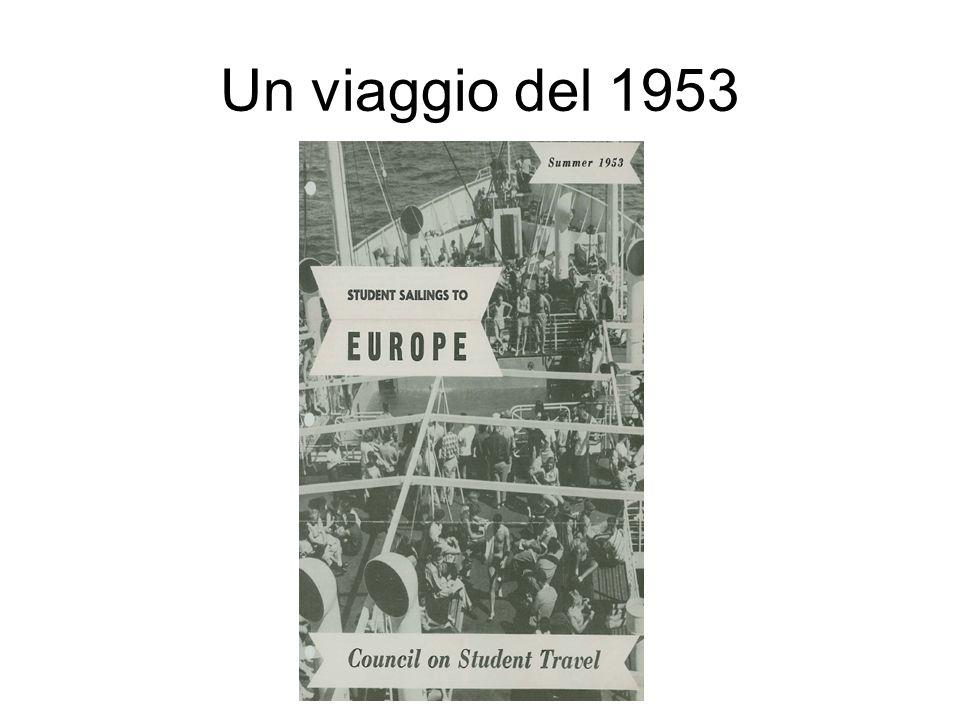 Un viaggio del 1953
