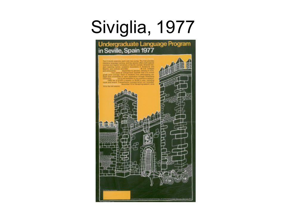 Siviglia, 1977