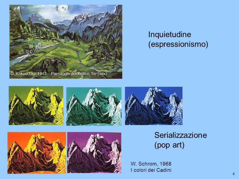 4 W. Schrom, 1968 I colori dei Cadini O.