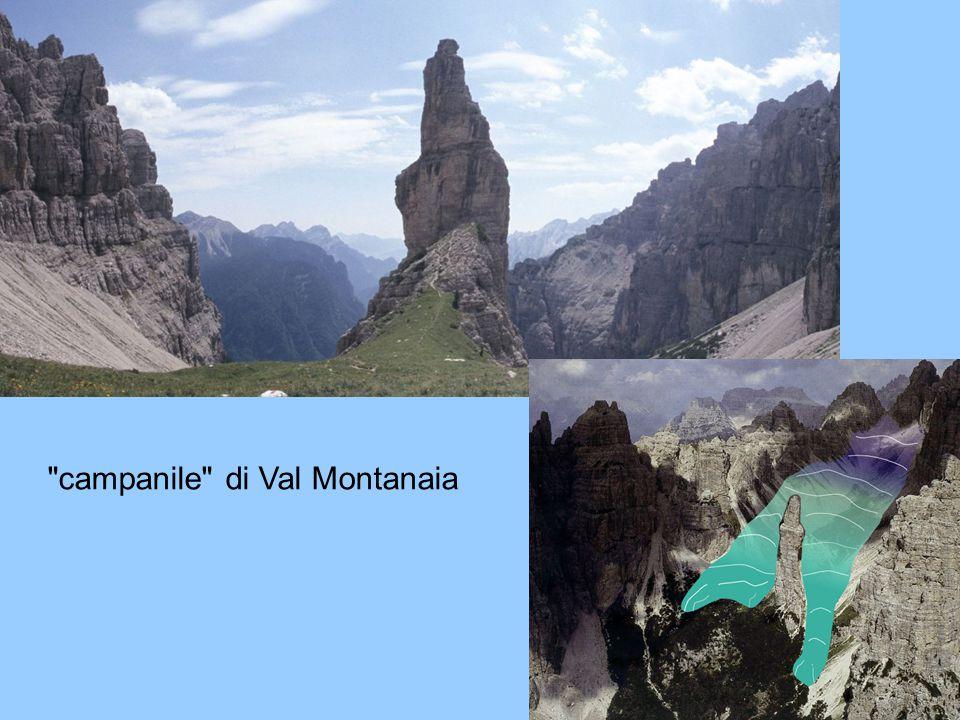 7 campanile di Val Montanaia