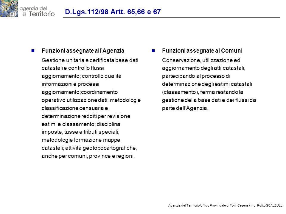14 Agenzia del Territorio Ufficio Provinciale di Forlì-Cesena / Ing.