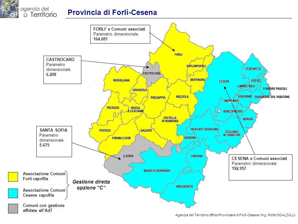 17 Agenzia del Territorio Ufficio Provinciale di Forlì-Cesena / Ing.