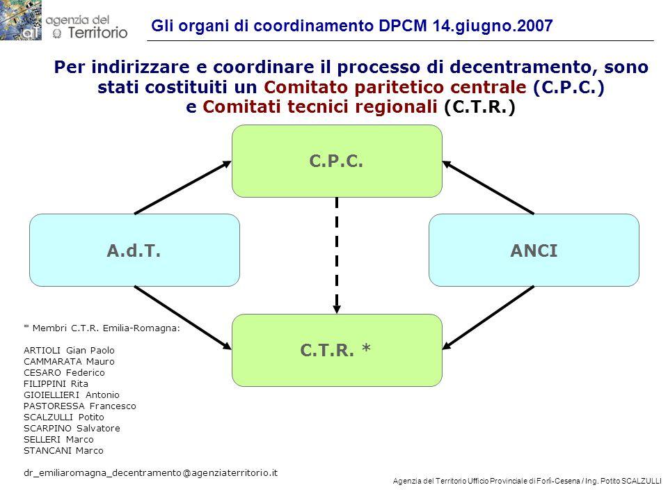 18 Agenzia del Territorio Ufficio Provinciale di Forlì-Cesena / Ing.