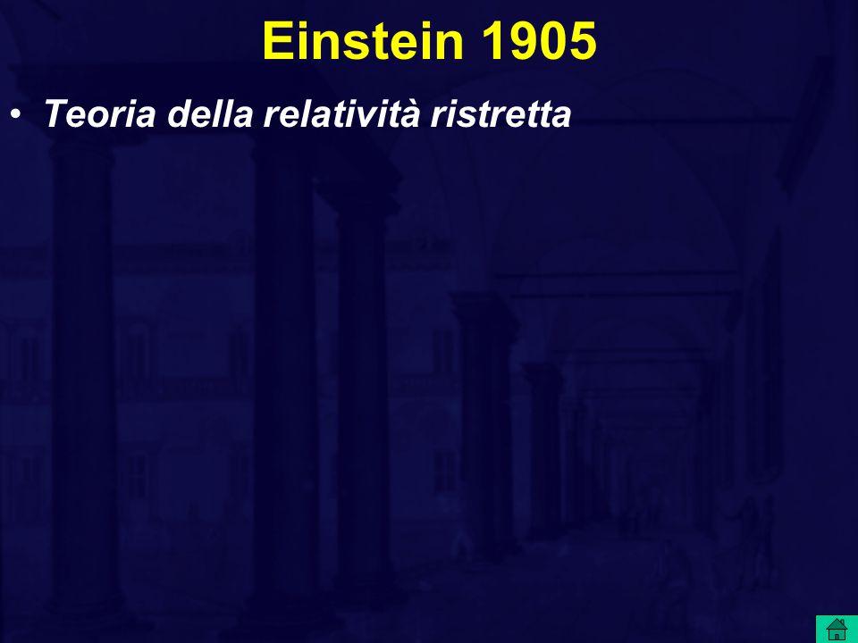 Einstein 1905 K o - K 1 = (L / V 2 ). v 2 / 2 E = m c 2