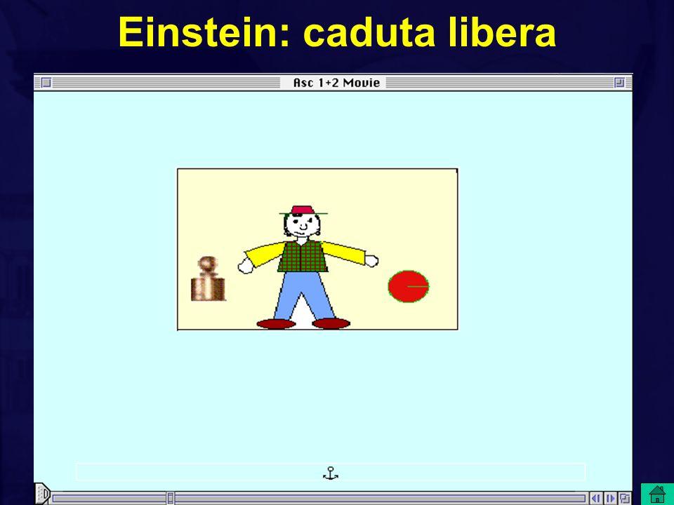 Einstein: sistemi inerziali+campi gravitazionali