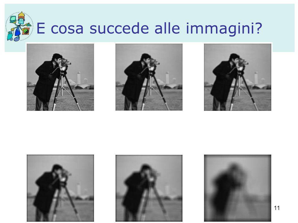 11 E cosa succede alle immagini