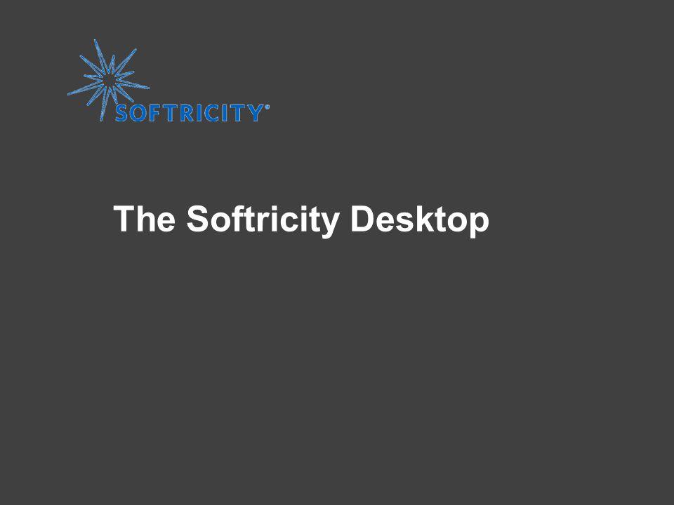 www.softricity.com The Softricity Desktop