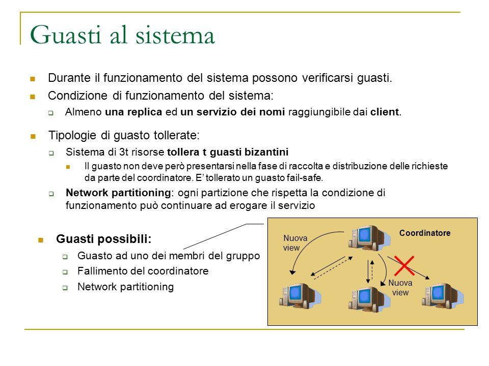 Guasti al sistema Durante il funzionamento del sistema possono verificarsi guasti.