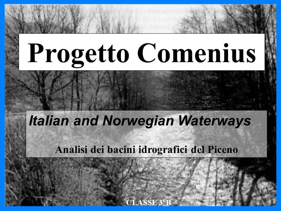 Il Bacino idrografico Il territorio compreso entro gli spartiacque di un fiume costituisce il suo bacino idrografico (con riferimento ai corsi d'acqua) o il suo bacino imbrifero (con riferimento alle precipitazioni).