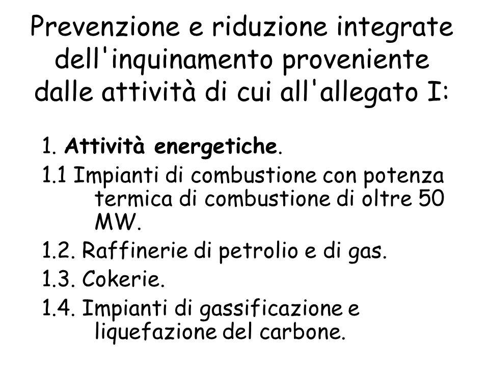4.6.Impianti chimici per la fabbricazione di esplosivi 5.
