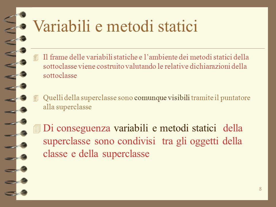 29 Dalla Classe Ide * (Ide | Loc | met) * Cenv * Heap * Astack  naming Val  (c) = (c1, , _, _, _) defined( , i) _____________________________________________  naming  (i)  (c) = (c1, , _, _, _) not defined( , i)  naming v _____________________________________________  naming v