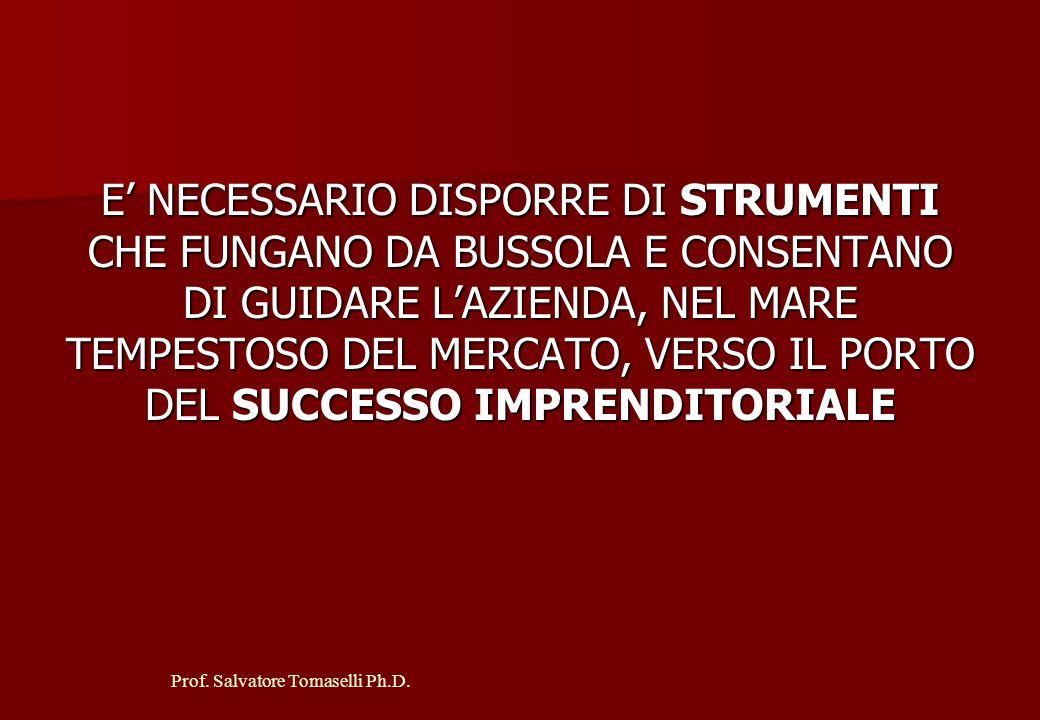 Prof.Salvatore Tomaselli Ph.D. I MEZZI DI TERZI SONO: A.