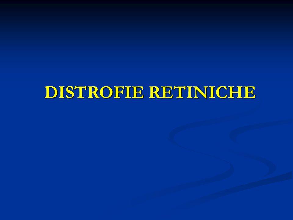 DISTROFIE RETINICHE