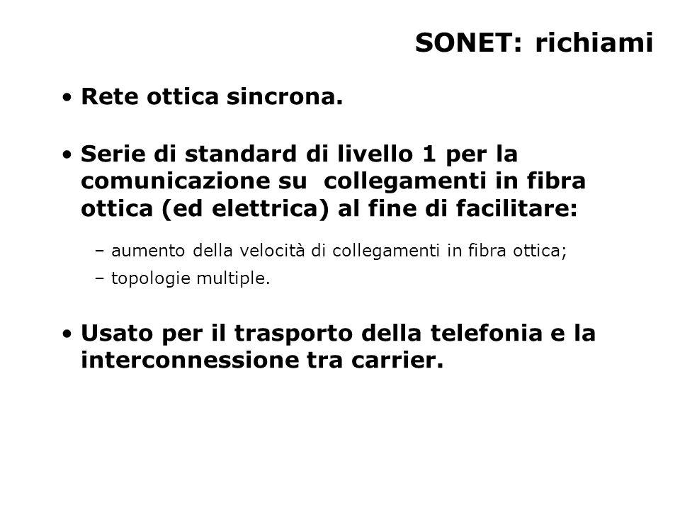 Tipi di apparecchi STE (Section Termination).LTE (Line Termination).