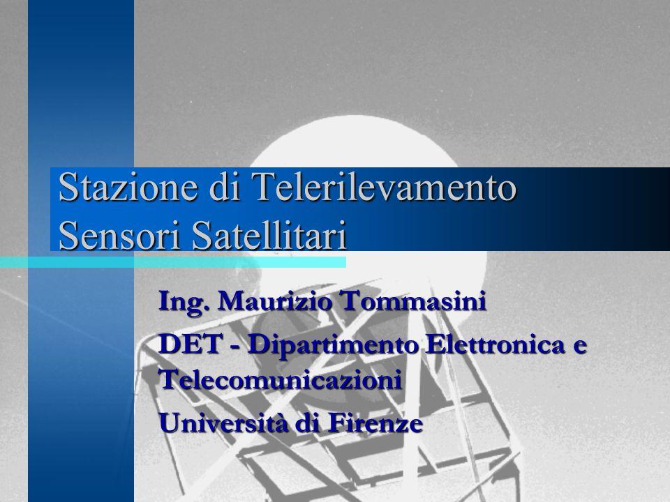 Stazione di Telerilevamento Sensori Satellitari Ing.