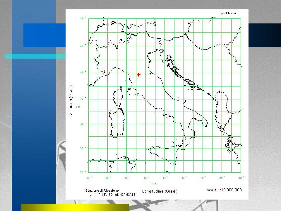 Il satelliteMeteosat La Stazione di Ricezione La Stazione di Ricezione –Schema della Stazione –L'antenna