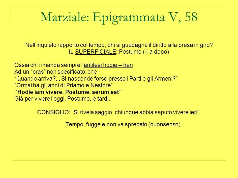 ORAZIO: CARPE DIEM , Ode I 11 « …carpe diem, quam minimum credula postero.