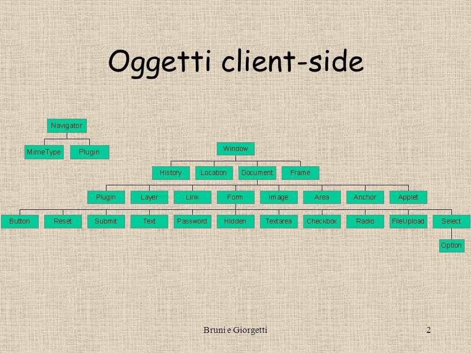Bruni e Giorgetti2 Oggetti client-side