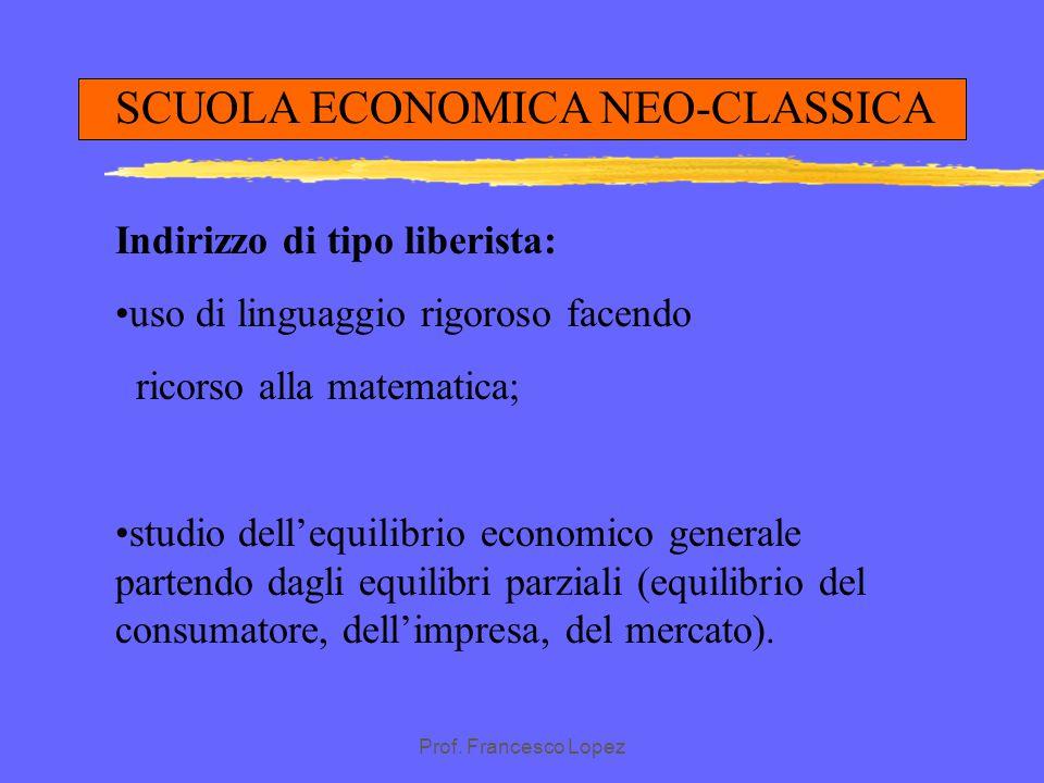 Prof. Francesco Lopez SCUOLA SOCIALISTA CROLLO DEL SISTEMA CAPITALISTICO SOCIETA' SENZA CLASSI STRUMENTI DI PRODUZIONE NELLE MANI DELLO STATO