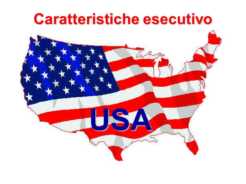 Caratteristiche esecutivo USA
